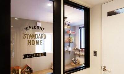 Legrand - アイランドキッチンを中心にぐるり。コンパクトな動線で家事効率UP! (子供部屋)