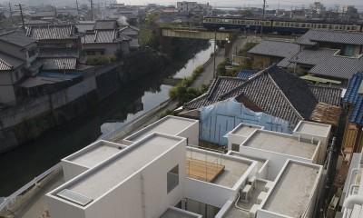 富津の2世帯住宅 (外観)