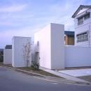 富津の2世帯住宅の写真 外観(道路側)