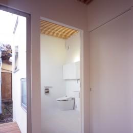 富津の2世帯住宅 (トイレ(親世帯))