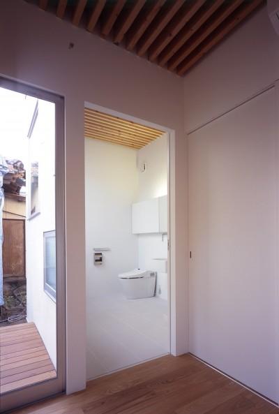 トイレ(親世帯) (富津の2世帯住宅)