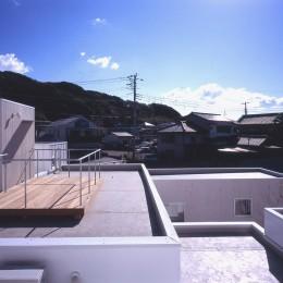 富津の2世帯住宅 (屋上テラス)