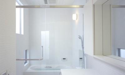 富津の2世帯住宅 (浴室)