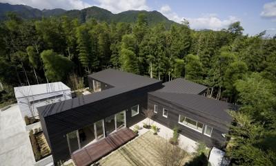 湯の山の住宅