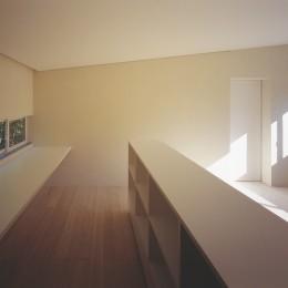 湯の山の住宅 (寝室)