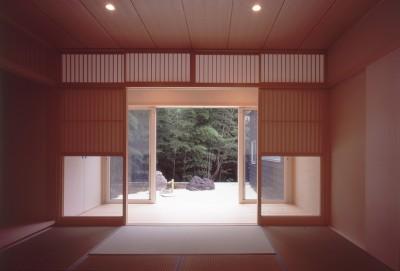 和室 (湯の山の住宅)