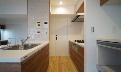 キッチン2|『家族がリビングに集まる暮らし』