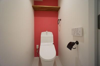 トイレ (『家族がリビングに集まる暮らし』)