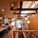 梶浦博昭の住宅事例「西魚の家~中古住宅を購入してスケルトンリノベーション~」