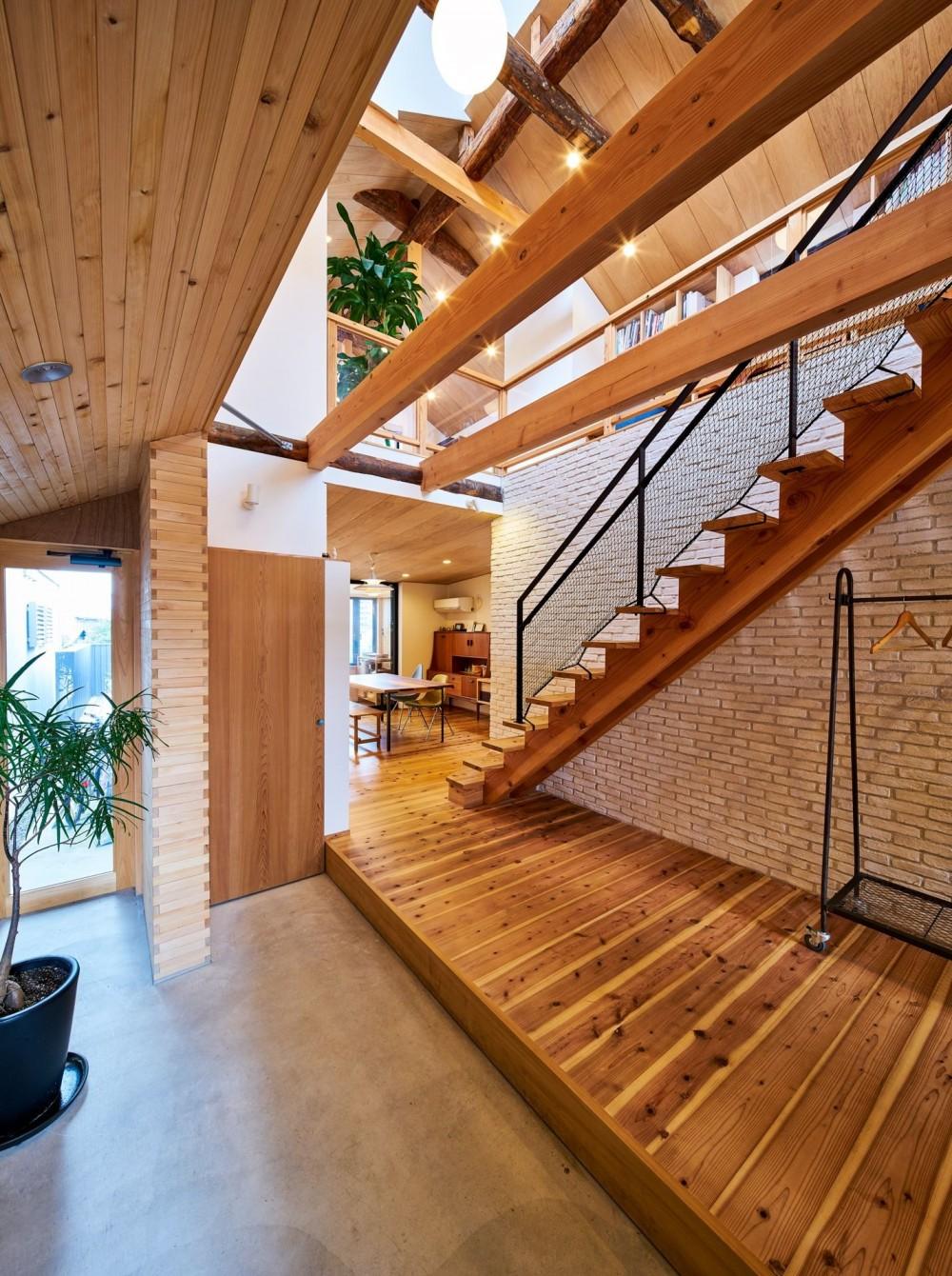 建築家:梶浦博昭「西魚の家~中古住宅を購入してスケルトンリノベーション~」