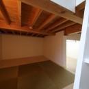 建もの探訪で放送 ピアノ室のある狭小住宅・スキップフロアを生かしたOUCHI-29の写真 床下収納