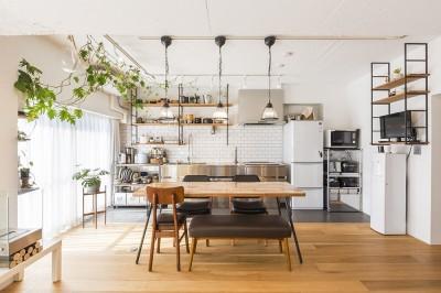キッチン (住み替えで手に入れたこだわりの住まい。大人リノベーション)