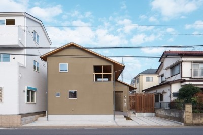 本郷町の家 (外観)