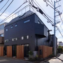 高円寺の賃貸併用住宅 (外観)