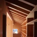 瀬谷の書斎 - 木造平屋の離れの写真 書斎本棚