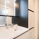 幸せ未来予想図の写真 洗面室