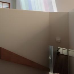 等々力の家 (階段)