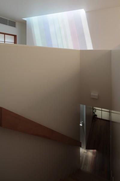 階段 (等々力の家)