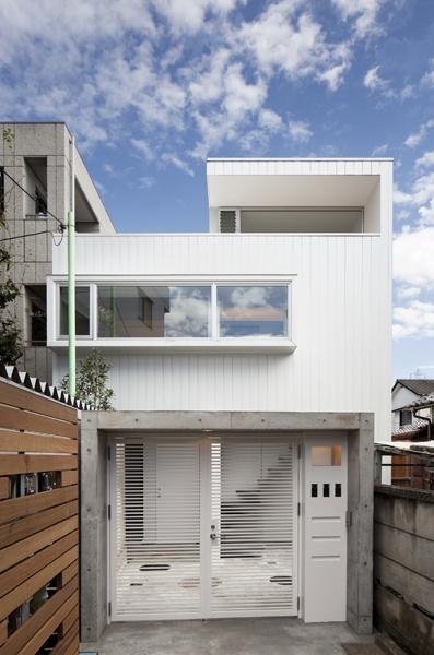 上高井戸の家 (外観)