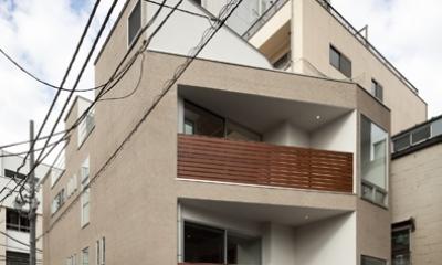 松が谷の家 (外観)