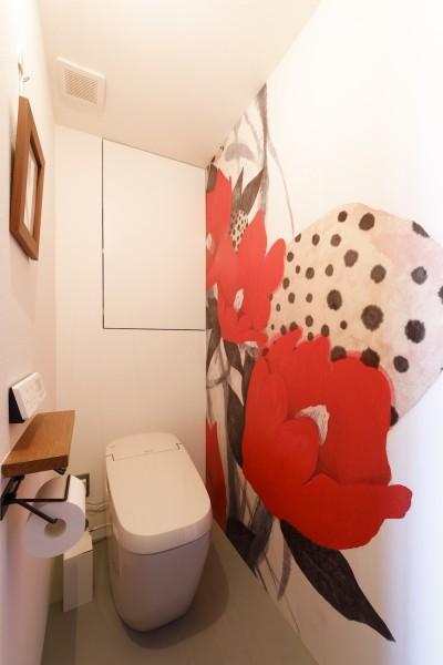 トイレ (chill vill-愛犬と一緒にのびのび暮らしたい。スキップフロアでつながる空間)