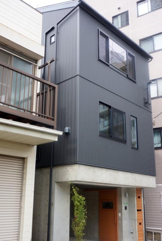 江古田の家 ―夫婦で趣味を楽しむ (外観)
