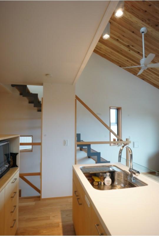 江古田の家 ―夫婦で趣味を楽しむ (キッチン)