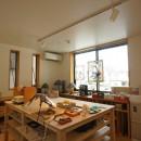 江古田の家 ―夫婦で趣味を楽しむの写真 趣味室-ステンドグラス工房