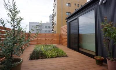 江古田の家 ―夫婦で趣味を楽しむ (屋上庭園)