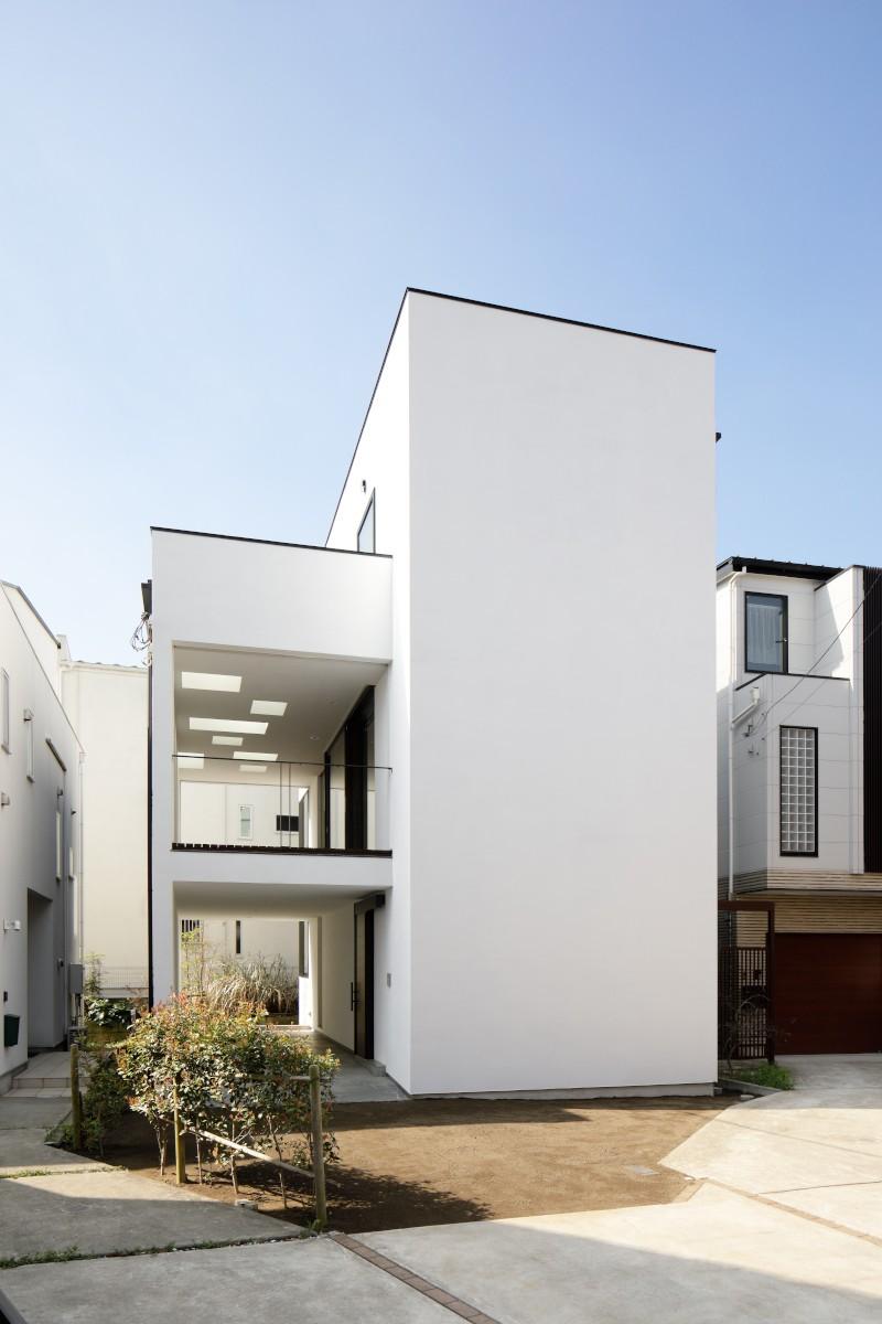 057鎌倉Mさんの家 (外観)
