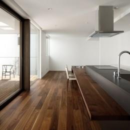 057鎌倉Mさんの家 (ダイニングキッチン)