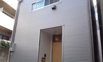 羽根木の家-9.5坪の敷地に
