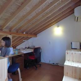 羽根木の家-9.5坪の敷地に (子供室)