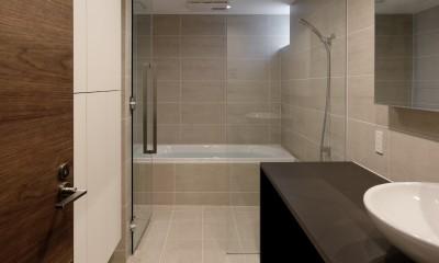 057鎌倉Mさんの家 (浴室)