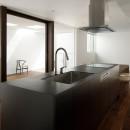 057鎌倉Mさんの家の写真 キッチン