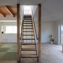 新石川戸建リノベーションPJ (階段)