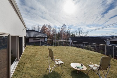 屋根の庭 (新石川戸建リノベーションPJ)