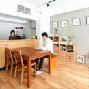 暮らしながら働く理想の暮らしの写真 ダイニングキッチン