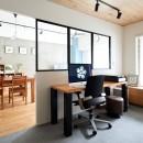 暮らしながら働く理想の暮らしの写真 書斎