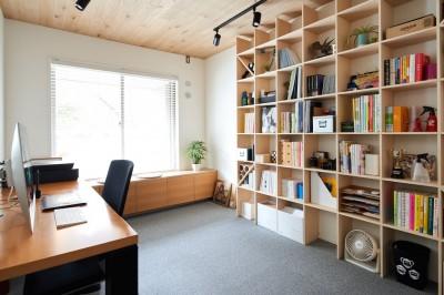 書斎 (暮らしながら働く理想の暮らし)