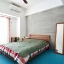 暮らしながら働く理想の暮らしの写真 主寝室