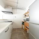 色とりどりのドアを開けるとの写真 キッチン