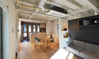 目黒区W様 北欧テイストあふれる開放的なスカンジナビアン・キッチンスタジオ