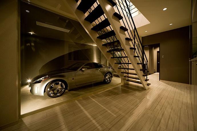FK-house/車好きのためのお家 (ビルトインガレージ)
