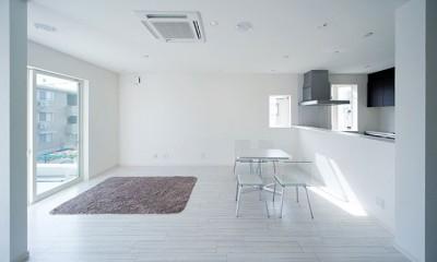 FK-house/車好きのためのお家 (ダイニング・キッチン)