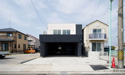 FK-house/車好きのためのお家 (外観)