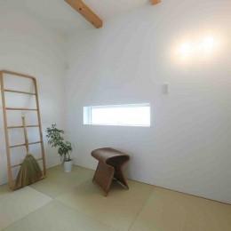 洗練された「北欧デザイン」の家。性能もデザインも規格型住宅『TRETTIO』で解決。 (和室)