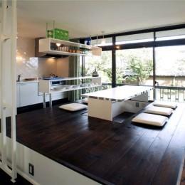 SZ-houose/平屋のリノベーション住宅 (掘りごたつダイニング)