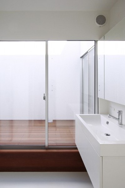 洗面脱衣室 (豊橋の家.2)