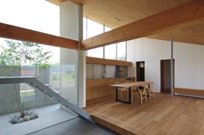 キッチン (新城の家)